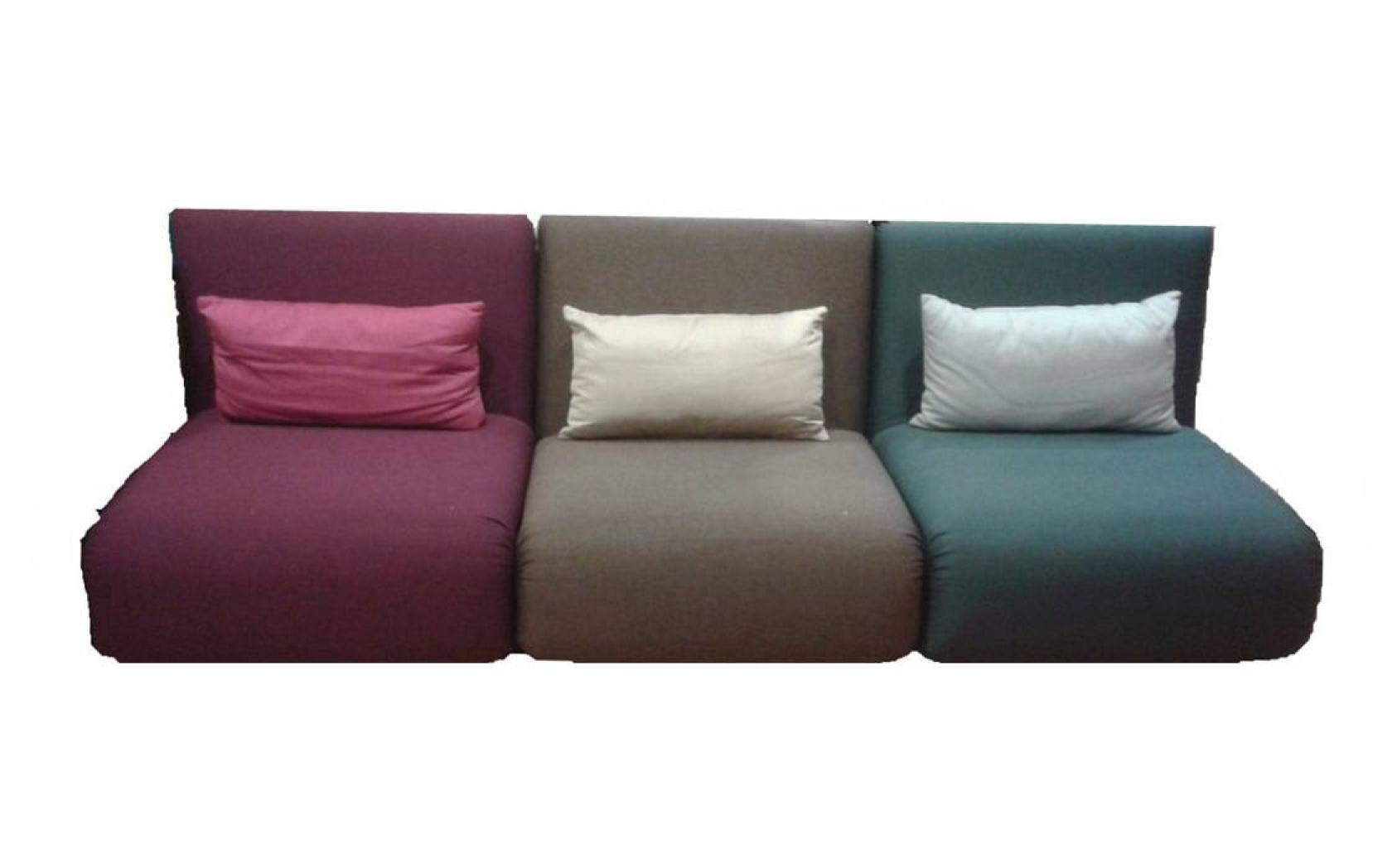 Canape futon 2 places for Lit convertible une place