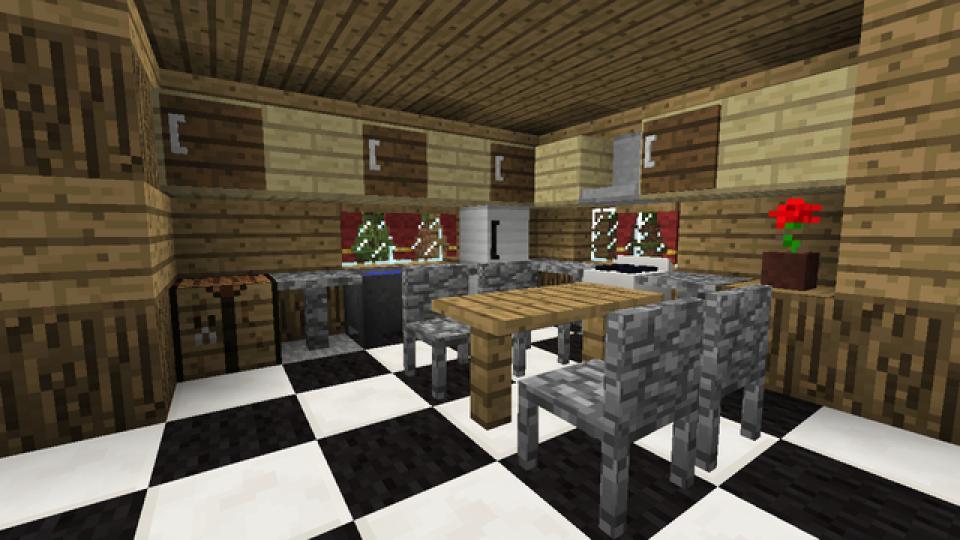 Мод на мебель для Minecraft 1.6.4/1.7.2 BiblioCraft.