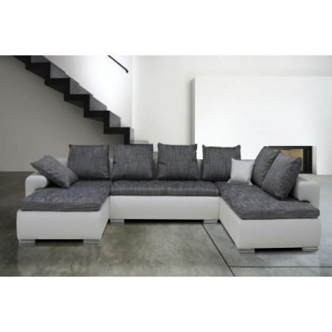 canape en solde canap en cuir de vachette avec ttires. Black Bedroom Furniture Sets. Home Design Ideas