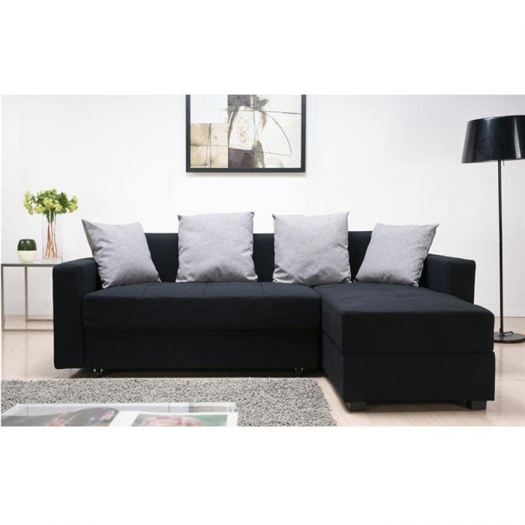 canap d 39 angle pas cher vente unique. Black Bedroom Furniture Sets. Home Design Ideas