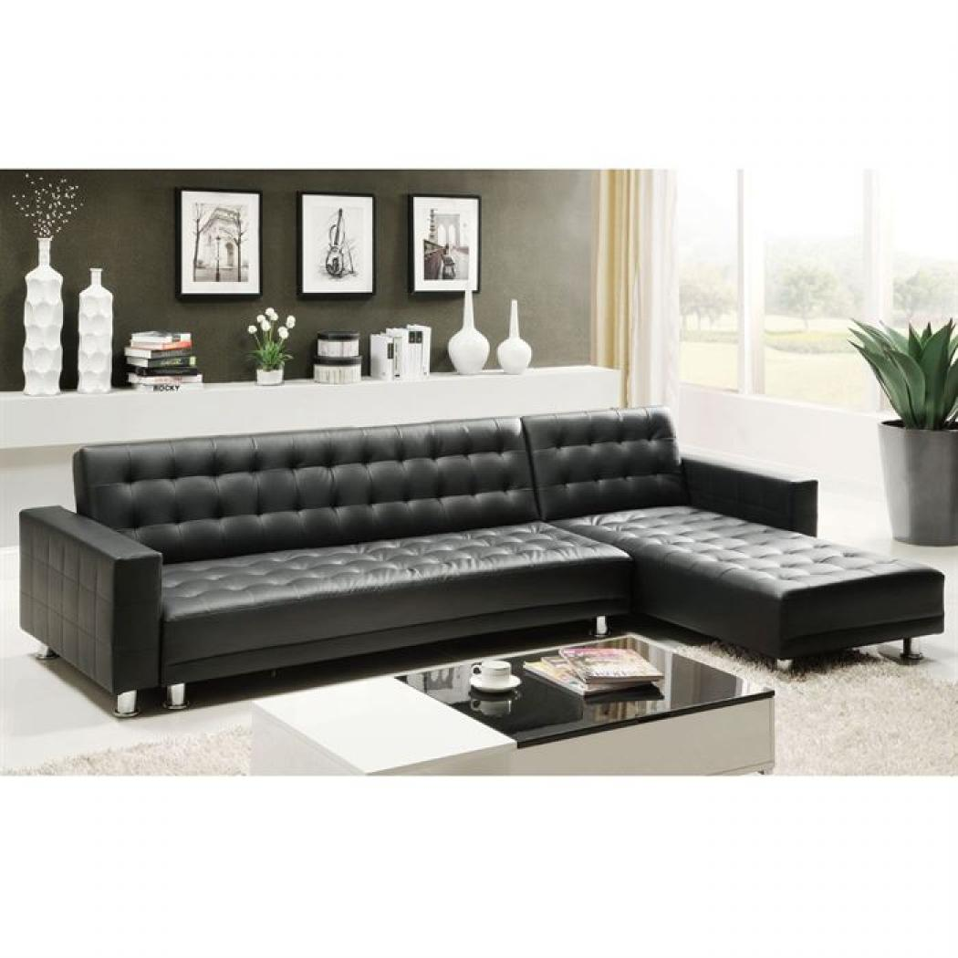 photos canap convertible d 39 angle cdiscount. Black Bedroom Furniture Sets. Home Design Ideas