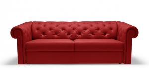 canapé chesterfield convertible rouge 8