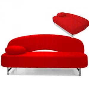 canapé chesterfield convertible rouge 11