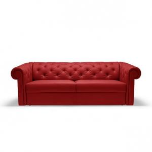canapé chesterfield convertible rouge 14