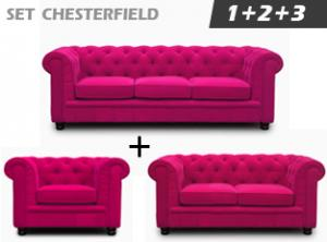 canapé chesterfield velours violet 8