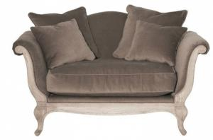 canapé chesterfield velours taupe 8
