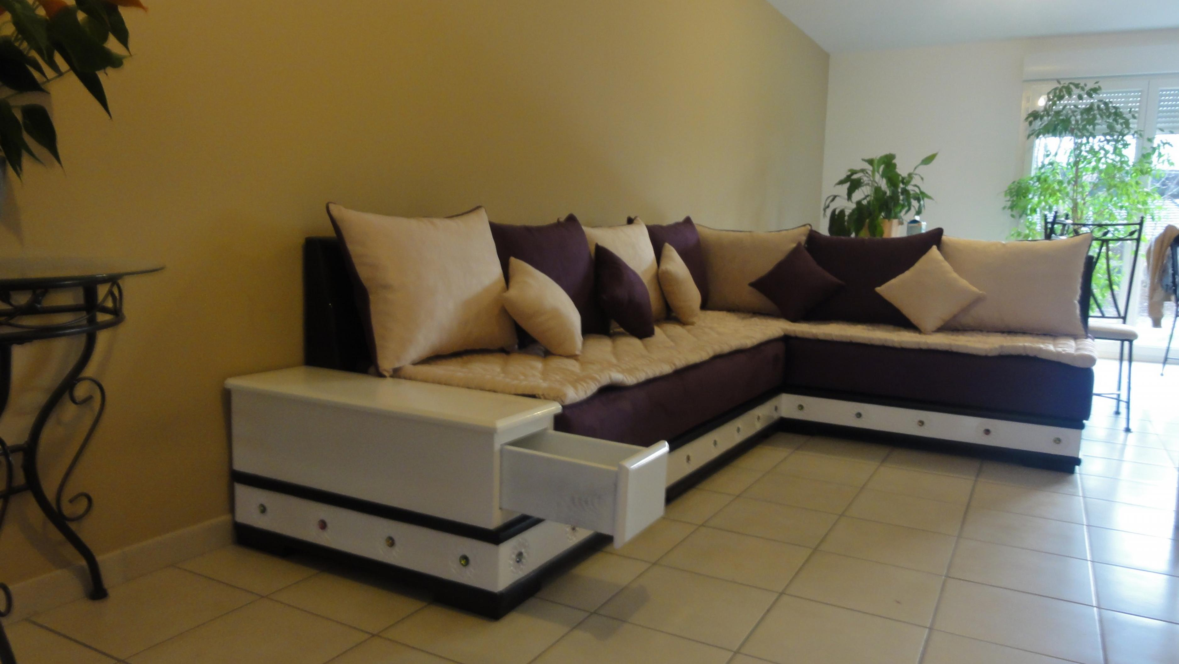 photos canap fauteuil marocain. Black Bedroom Furniture Sets. Home Design Ideas