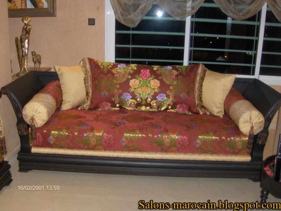 Photos canap fauteuil marocain for Canape marocain