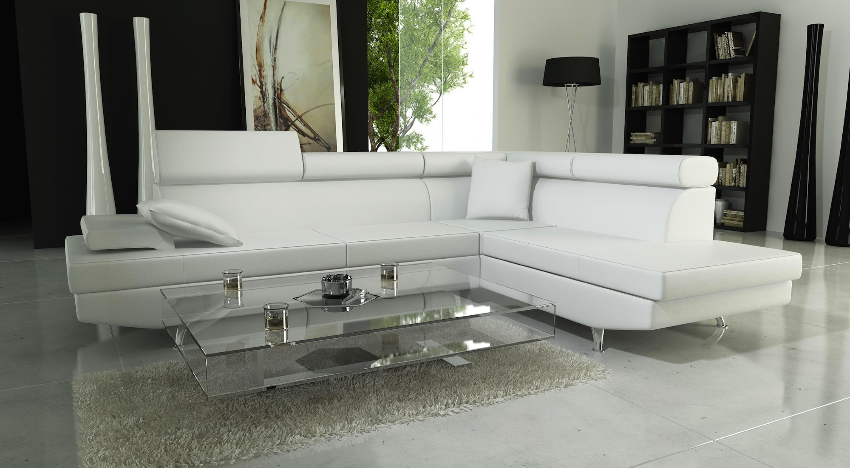 s canapé d angle cuir blanc
