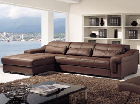 photos canap d 39 angle cuir marron. Black Bedroom Furniture Sets. Home Design Ideas