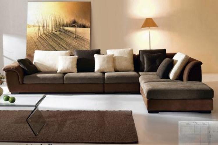 s canapé d angle cuir marron