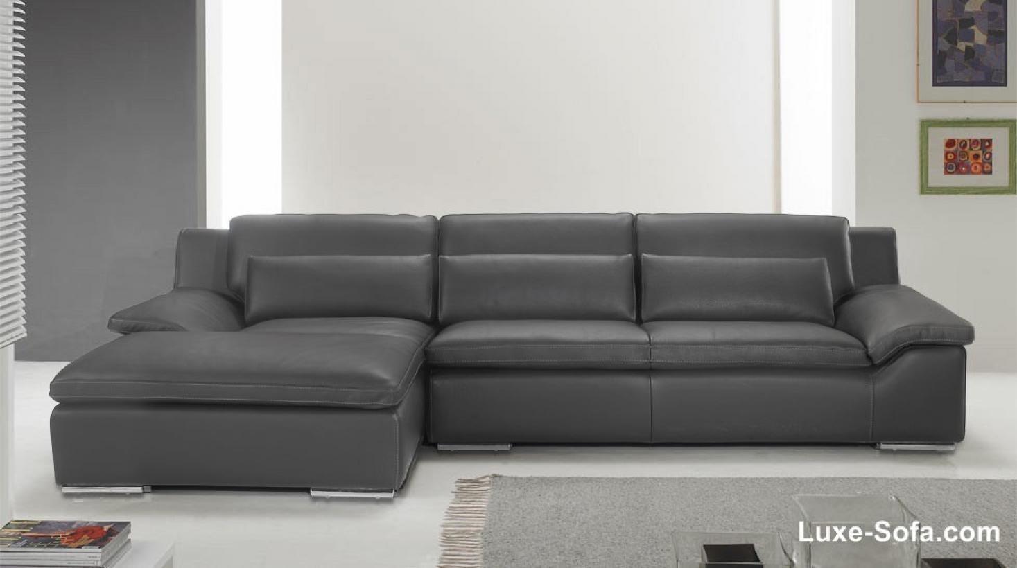 s canapé d angle cuir gris