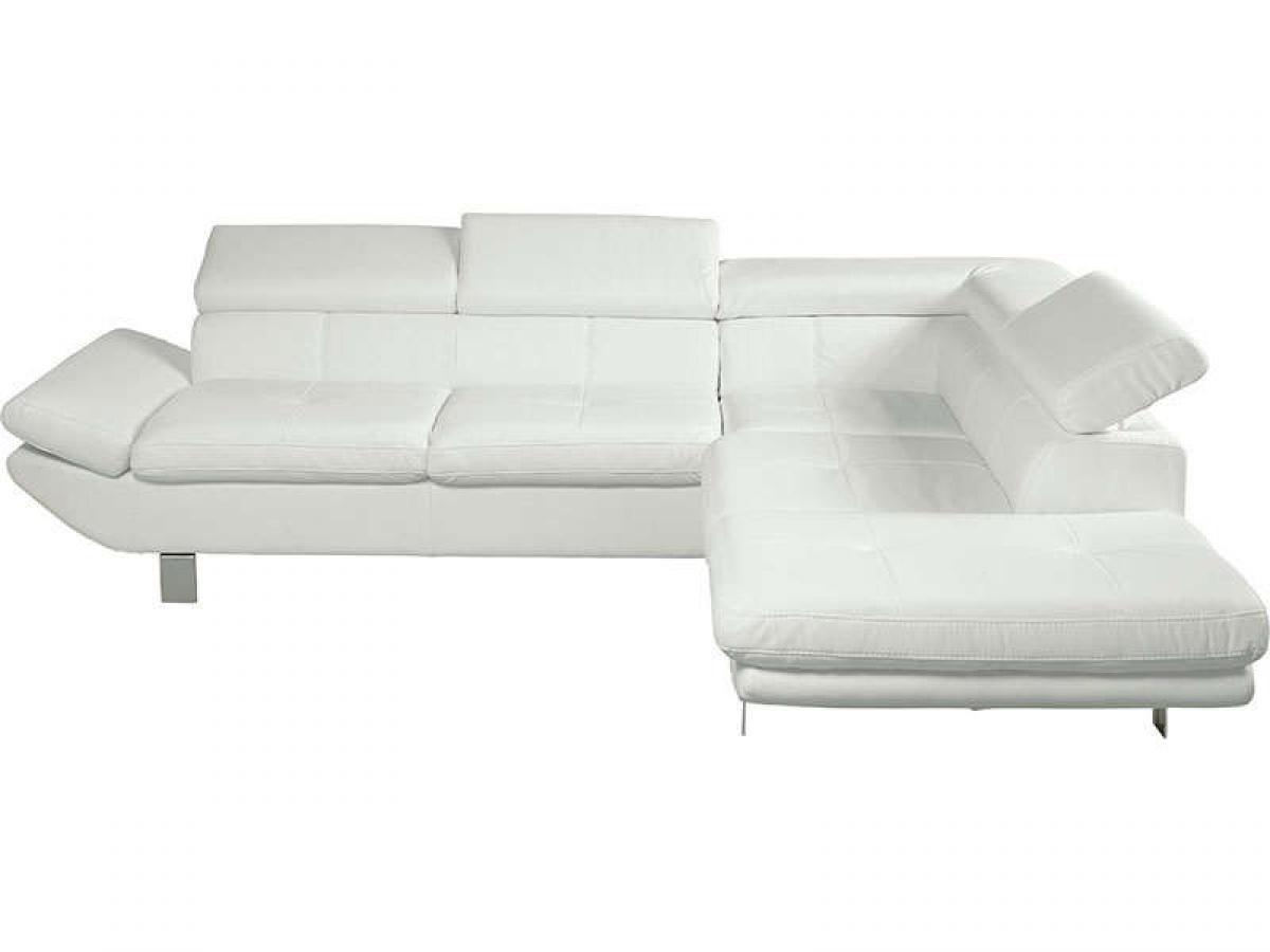 Photos canap d 39 angle conforama gris et blanc - Canape angle gris et blanc ...