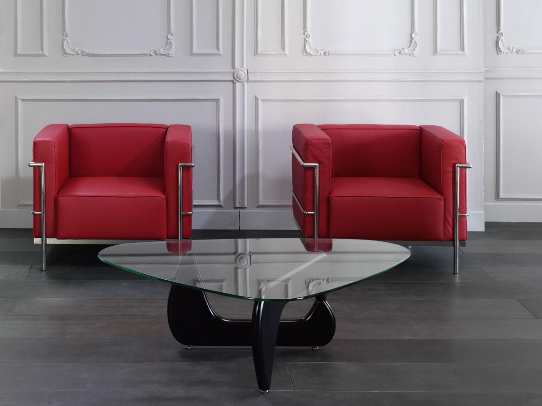 photos canap le corbusier lc2. Black Bedroom Furniture Sets. Home Design Ideas