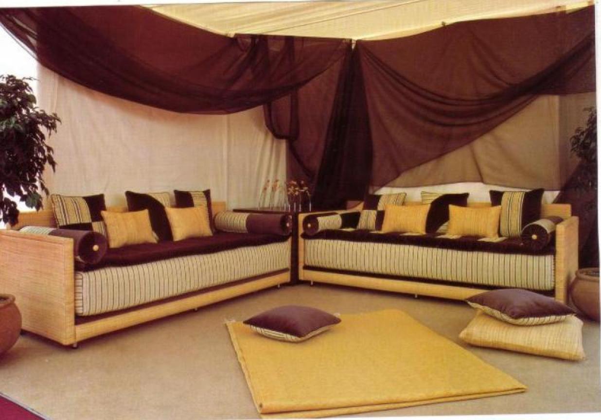 Photos canapé marocain design cuir
