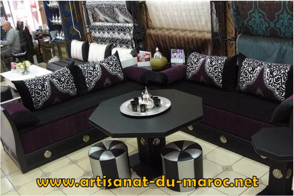 canap marocain moderne free salon marocain matelas tapis canaps et autres superbes accessoires. Black Bedroom Furniture Sets. Home Design Ideas