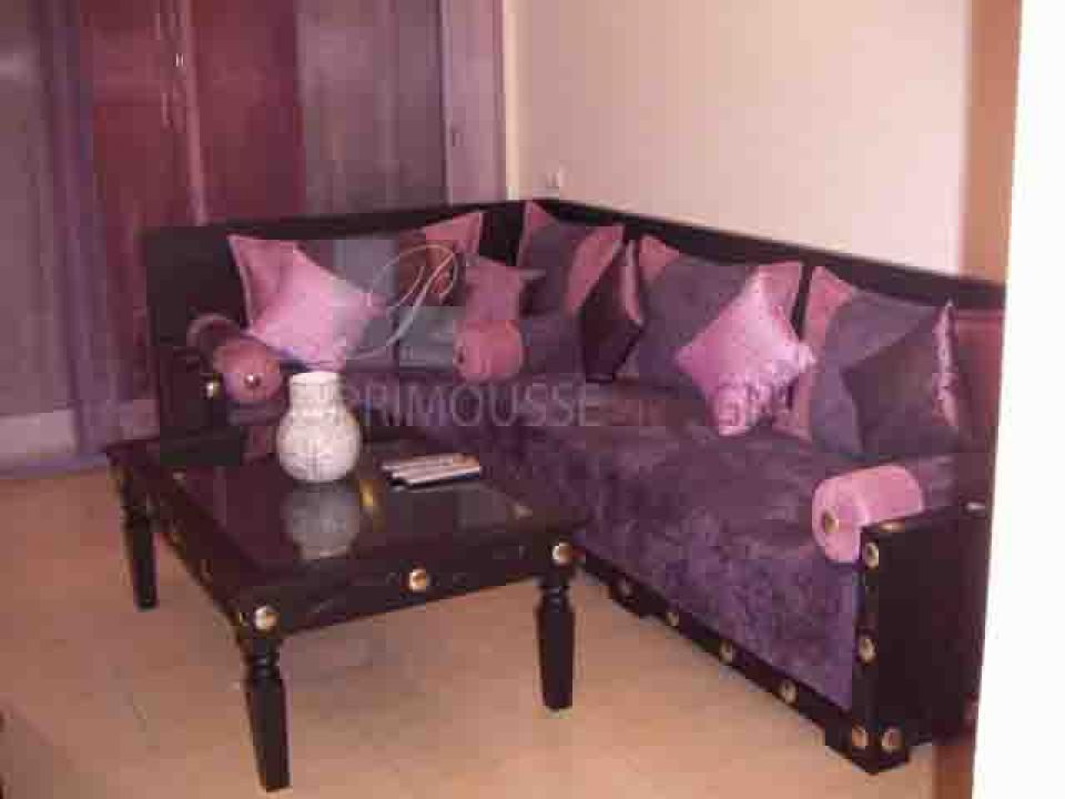 Awesome salon marocain mauve et beige gallery lalawgroup for Canape marocain