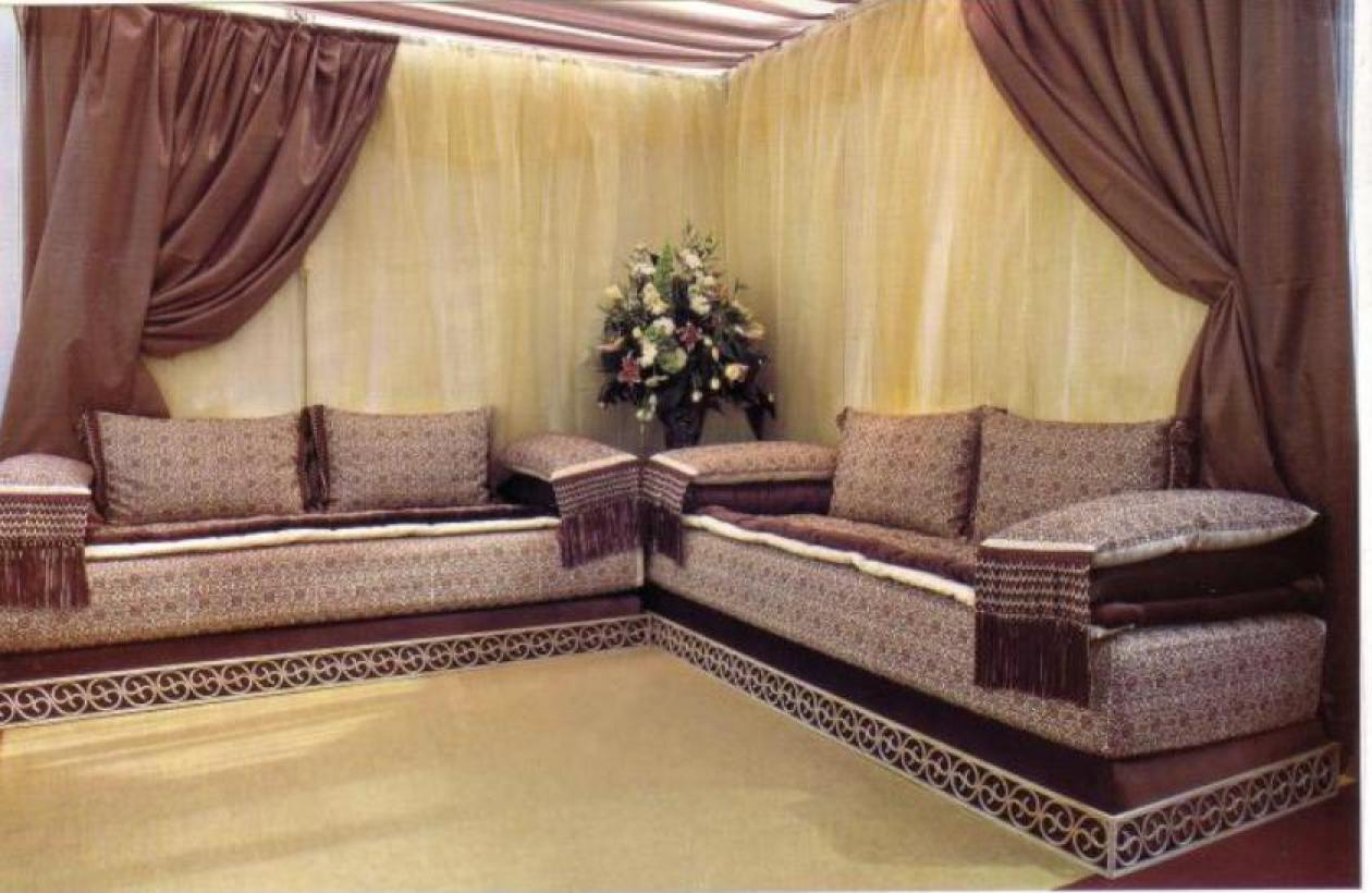 housse salon marocain moderne. Black Bedroom Furniture Sets. Home Design Ideas
