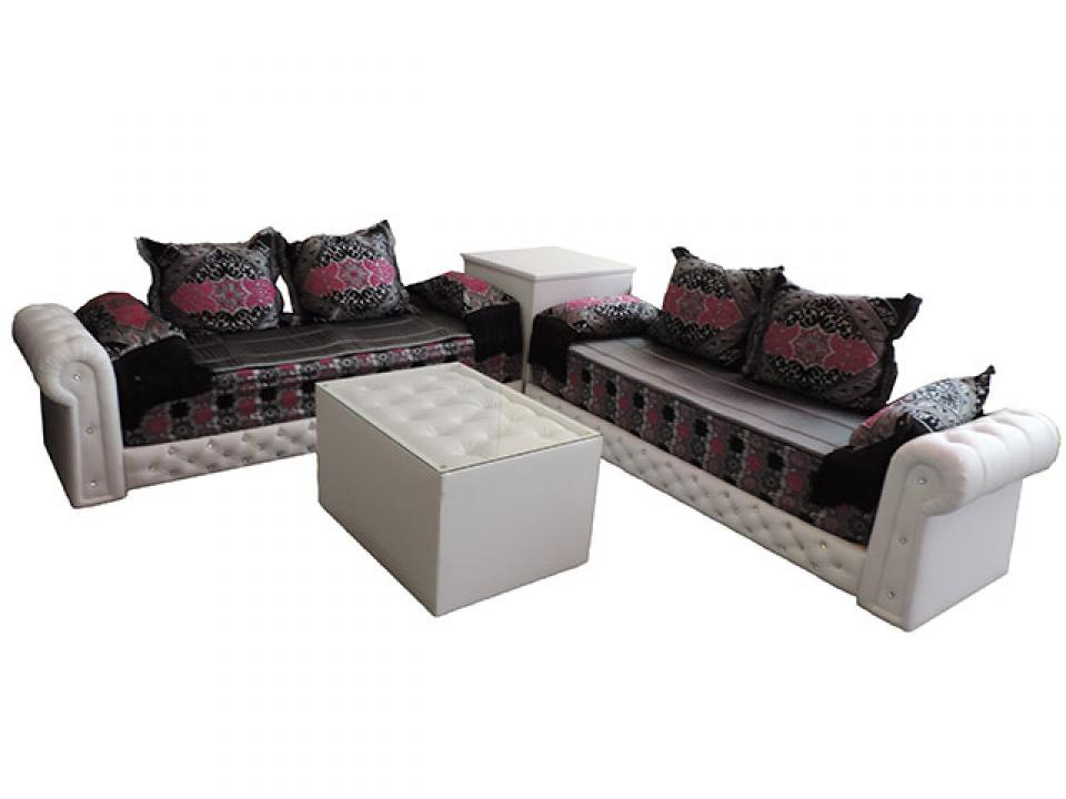 photo canap marocain tissu pour canap marocain like this sofa style arms legs pillows canape. Black Bedroom Furniture Sets. Home Design Ideas