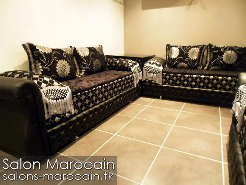emejing salon marocain moderne doccasion images nettizen. Black Bedroom Furniture Sets. Home Design Ideas