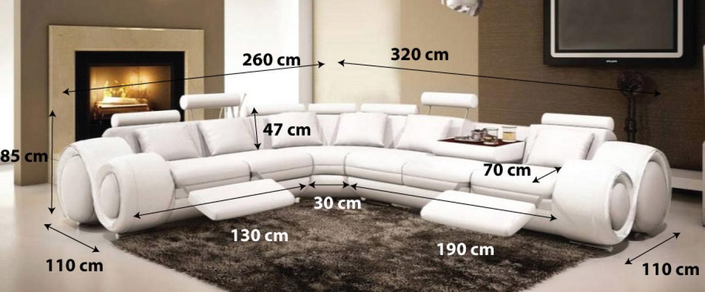 photos canap d 39 angle design moderne. Black Bedroom Furniture Sets. Home Design Ideas
