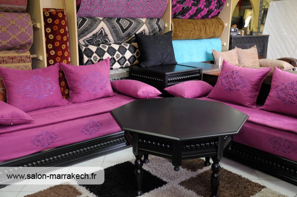Awesome Salon Marocain Moderne Mauve Ideas - House Design ...