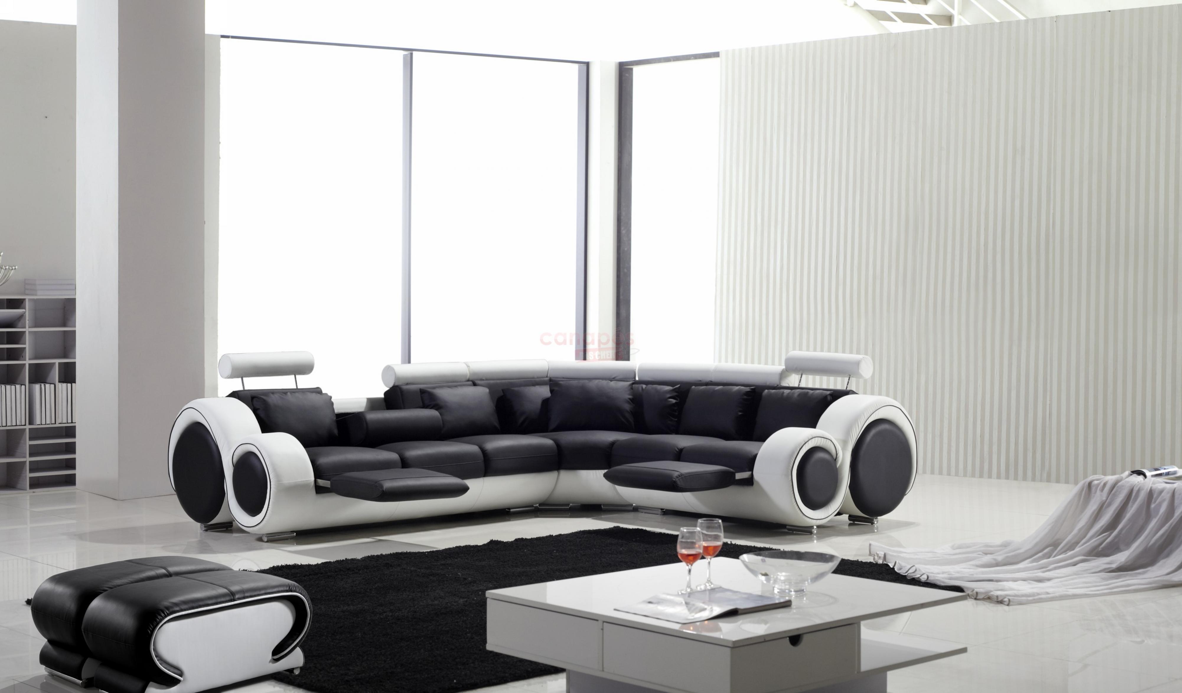 full canape d angle design noir et blanc 10 Résultat Supérieur 50 Meilleur De Canape Panoramique Noir Et Blanc Image 2017 Pkt6