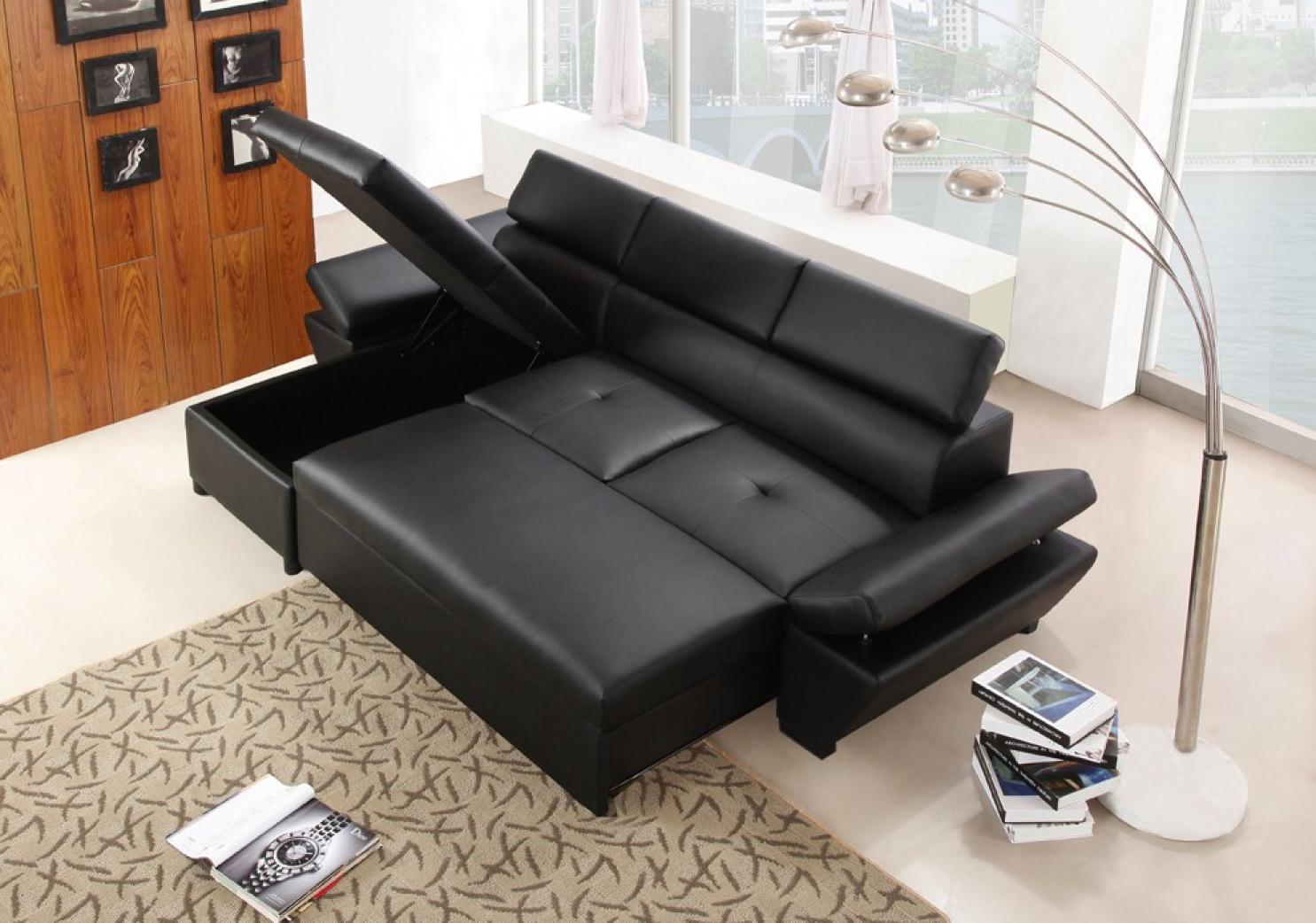 Photos Canapé Dangle Convertible Pas Cher Simili Cuir - Canapé d angle convertible simili cuir pas cher