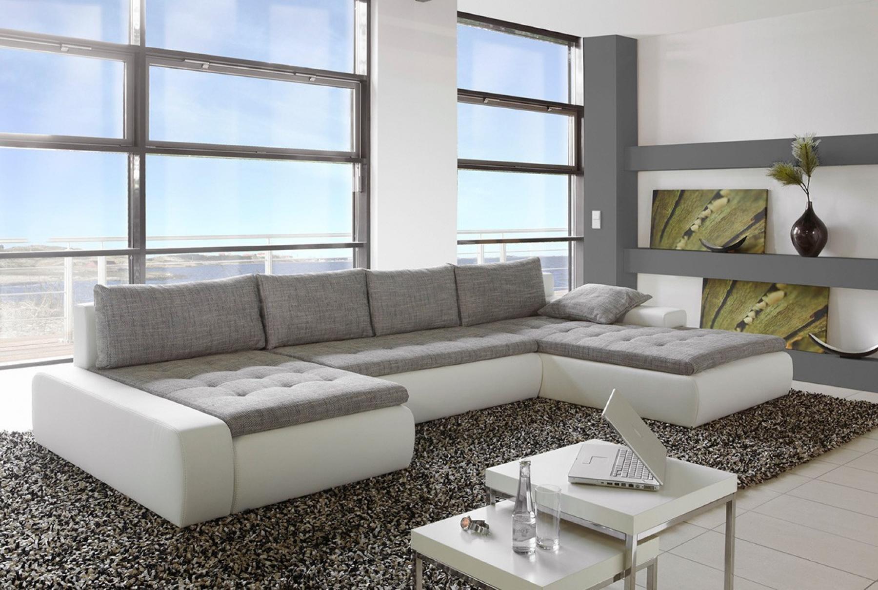 photos canap d 39 angle gris. Black Bedroom Furniture Sets. Home Design Ideas