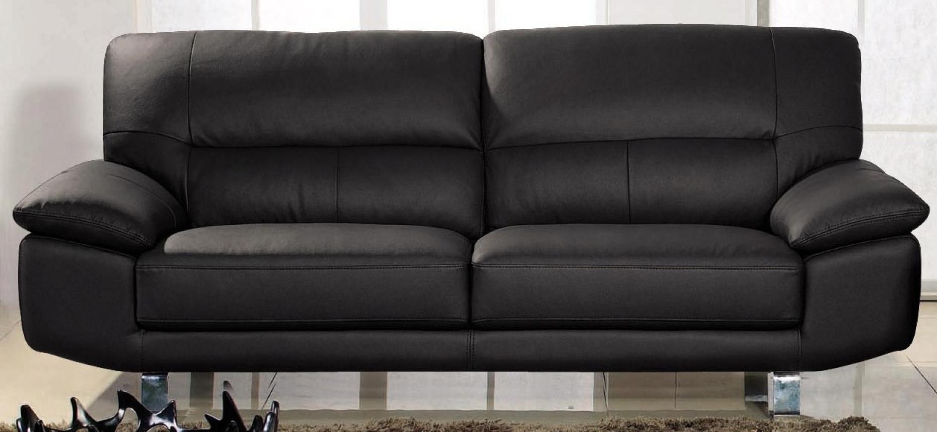 photos canap convertible cuir 3 places. Black Bedroom Furniture Sets. Home Design Ideas