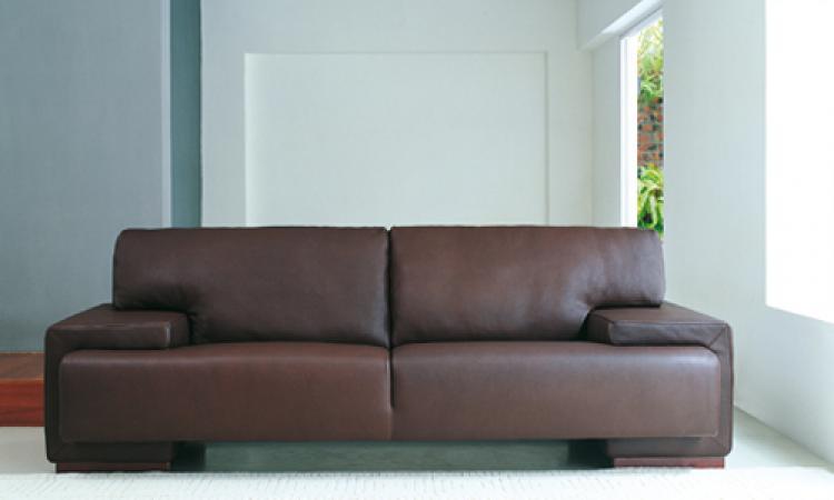 s canapé convertible cuir marron