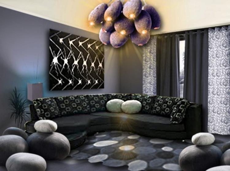 Awesome Déco Rideaux Salon Design Images - Joshkrajcik.us ...