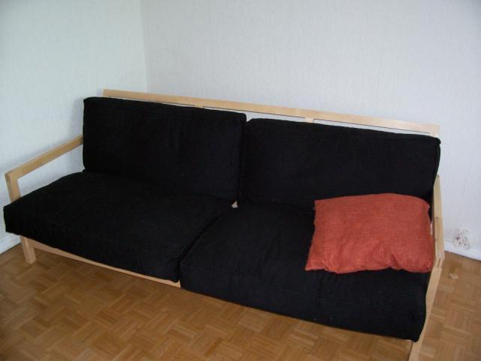 photos canap lit ikea bois. Black Bedroom Furniture Sets. Home Design Ideas