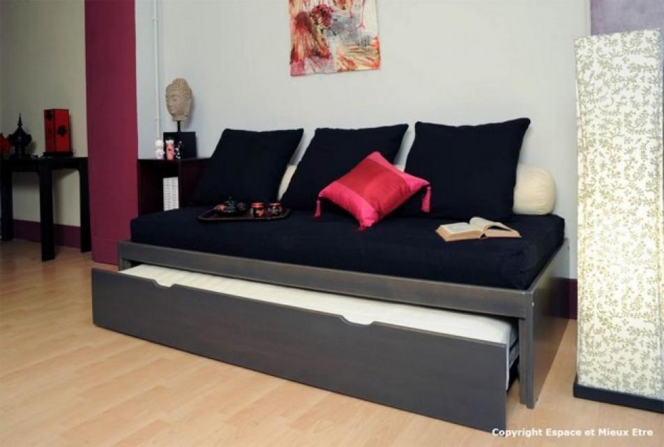 fabuleux lit gigogne pour adulte rm27 montrealeast. Black Bedroom Furniture Sets. Home Design Ideas