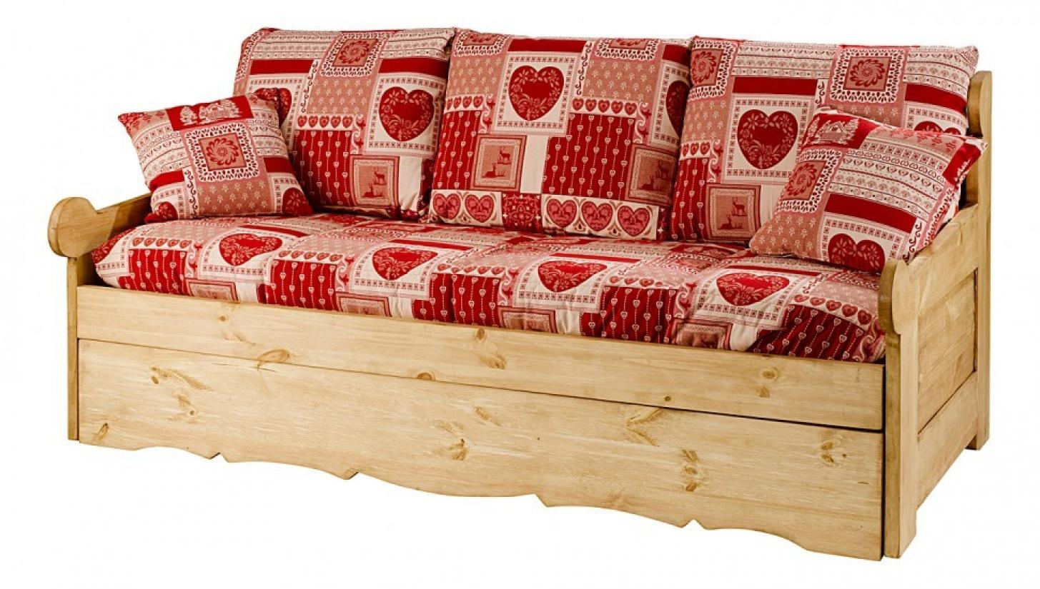 photos canap lit gigogne style montagne. Black Bedroom Furniture Sets. Home Design Ideas