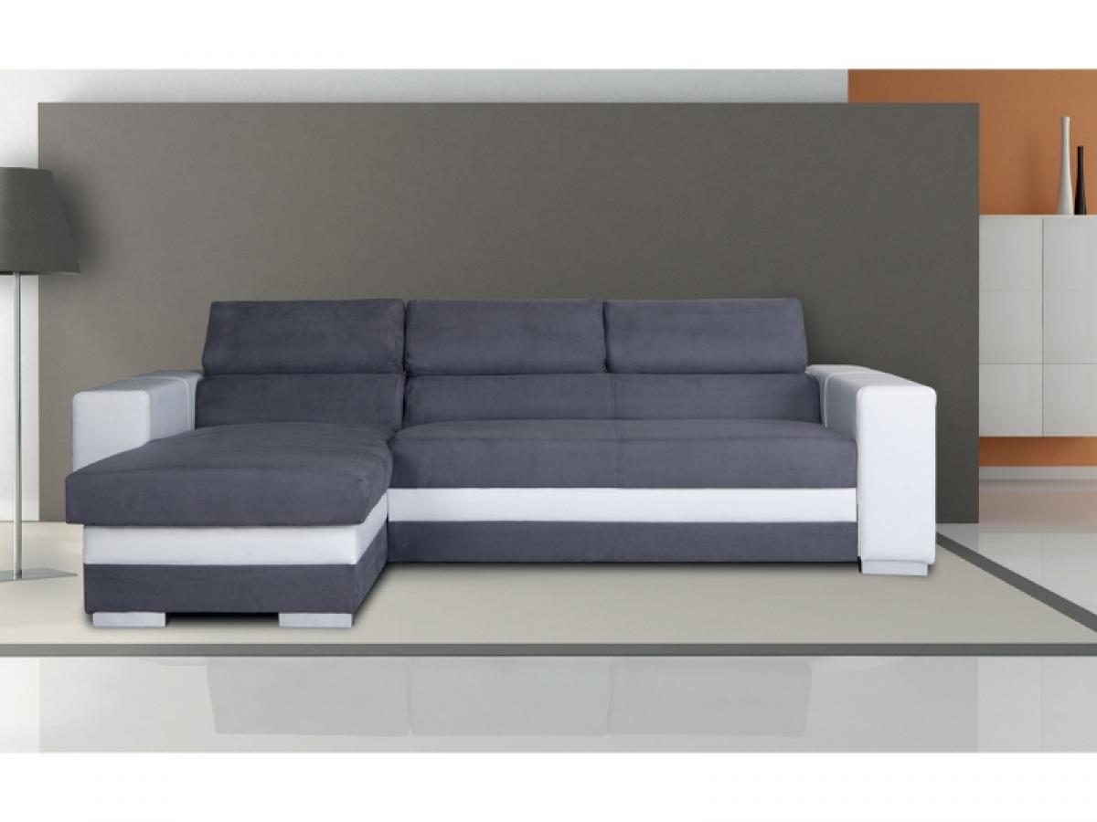 photos canap d 39 angle convertible tissu pas cher. Black Bedroom Furniture Sets. Home Design Ideas