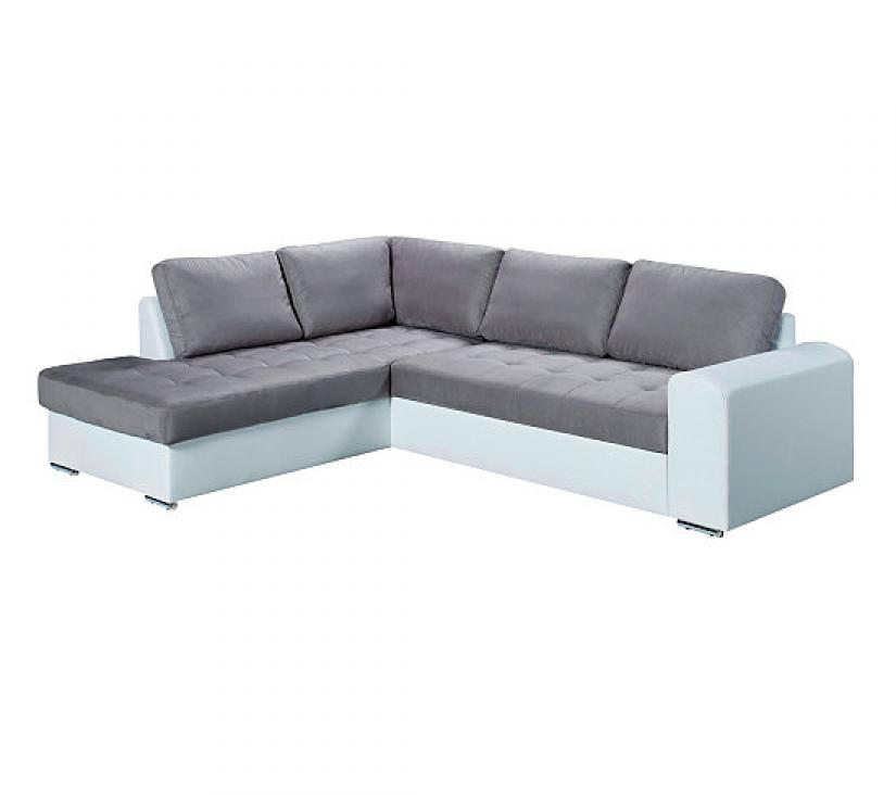 Photos canap d 39 angle convertible gris but for Canape angle gris