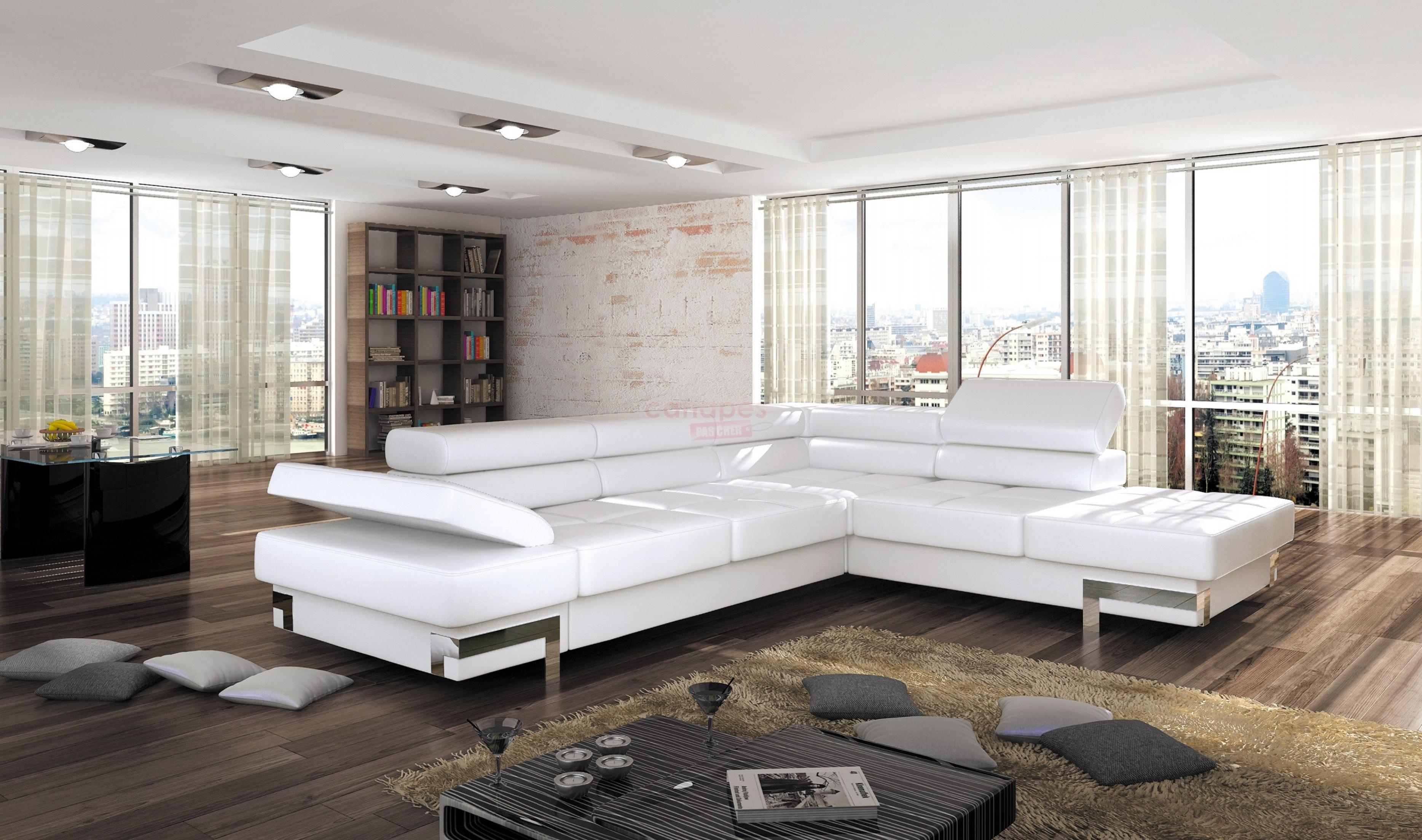 photos canap d 39 angle convertible design pas cher. Black Bedroom Furniture Sets. Home Design Ideas