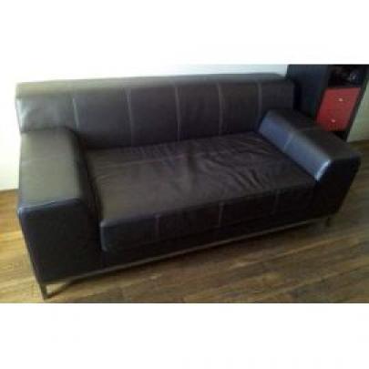 photos canap 2 places cuir ikea. Black Bedroom Furniture Sets. Home Design Ideas