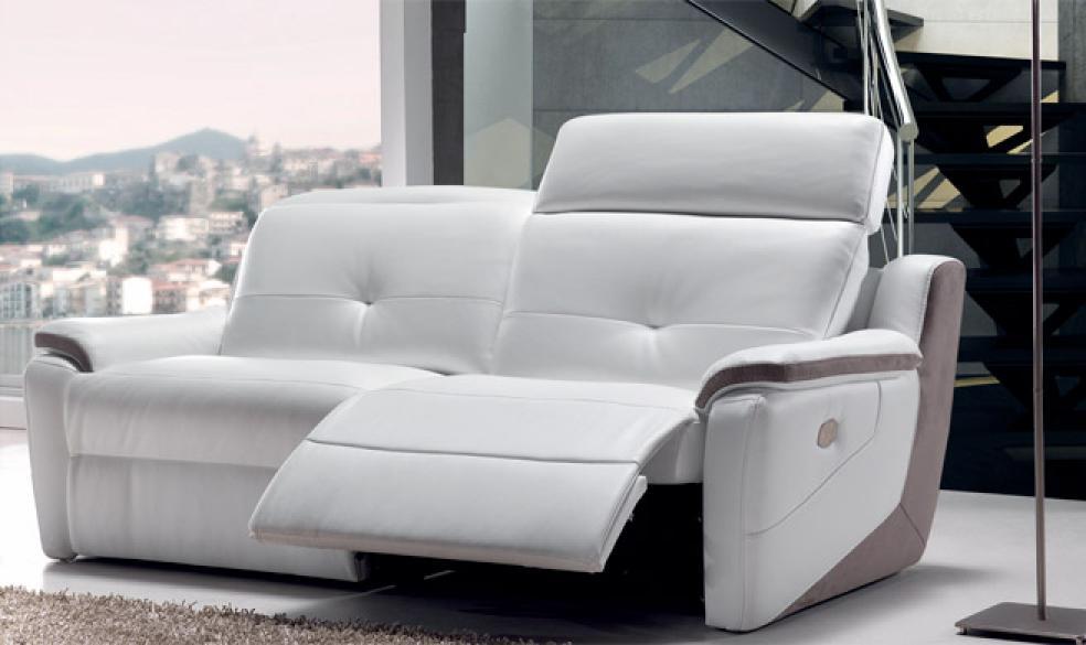 s canapé 2 places relax electrique