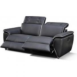 meilleure sélection a4461 b29b5 Photos canapé 2 places relax électrique cuir arena