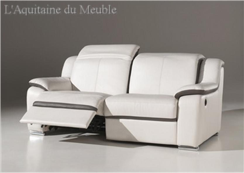 Canape Relax Electrique Conforama Canape Relax Electrique Tissu - Canape cuir relax but