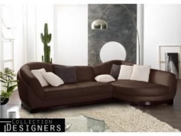 s canapé d angle cuir marron vieilli