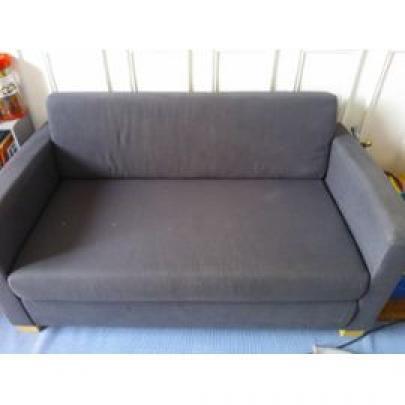 photos canap convertible 2 places ikea solsta. Black Bedroom Furniture Sets. Home Design Ideas