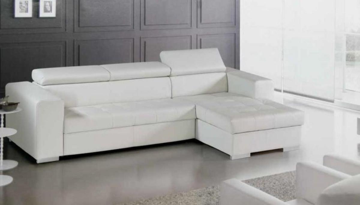 grand choix de 556e2 eb4f7 Photos canapé convertible cuir blanc ikea