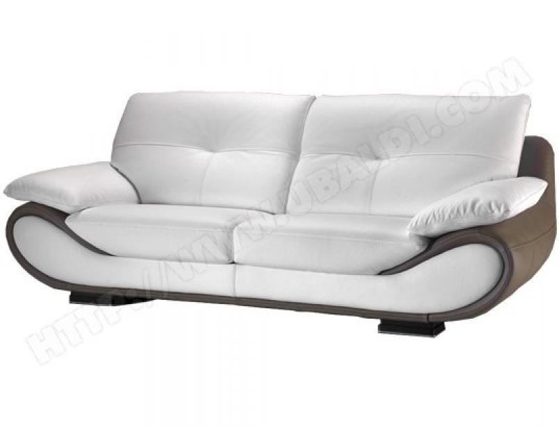 photos canap convertible cuir blanc pas cher. Black Bedroom Furniture Sets. Home Design Ideas