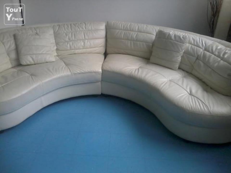 s canapé arrondi