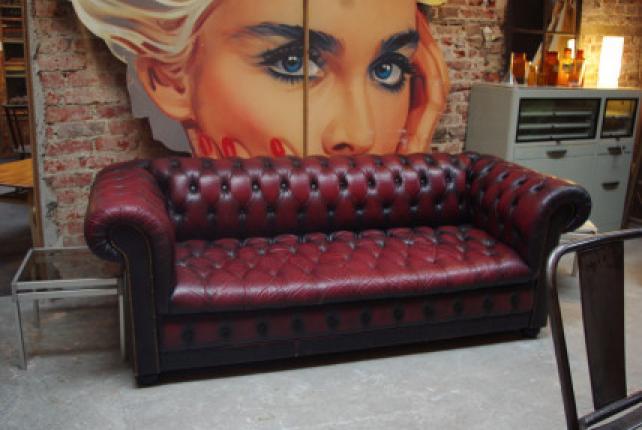 Photos canapé chesterfield maison du monde