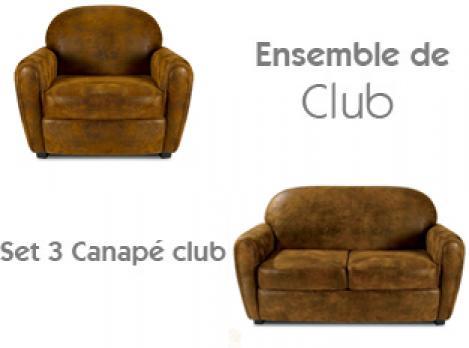 Canap club cuir vieilli elegant share le canap club en - Canape club cuir vieilli ...