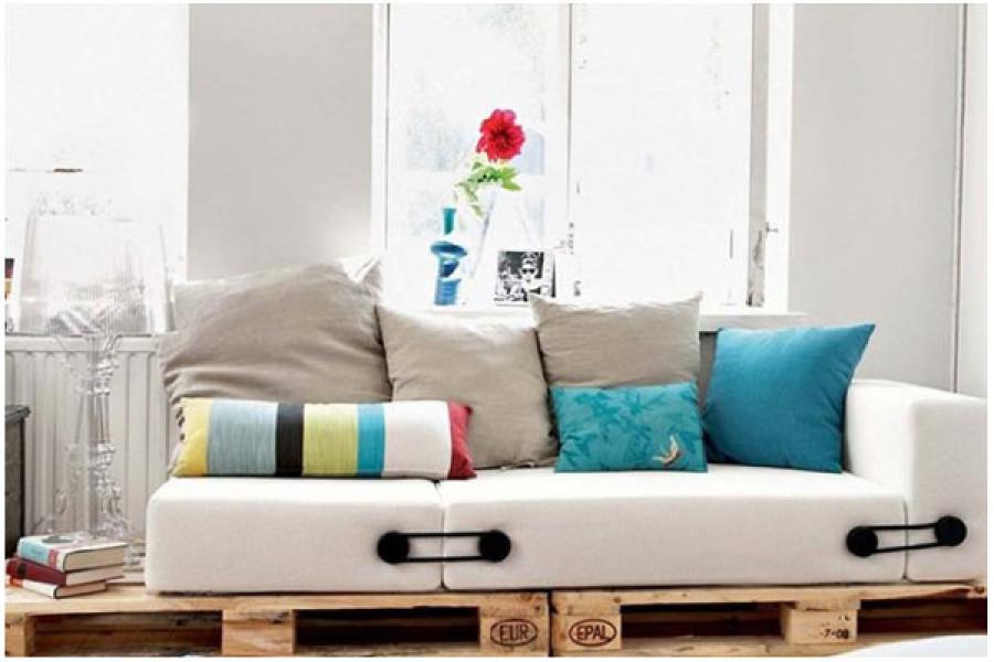 photos canap palette design. Black Bedroom Furniture Sets. Home Design Ideas